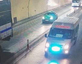 Xử lý thêm nhiều tài xế vượt xe, chạy ngược chiều trong hầm Hải Vân