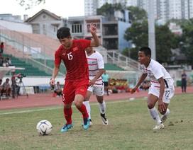 Thua U18 Campuchia, U18 Việt Nam bị loại khỏi giải U18 Đông Nam Á