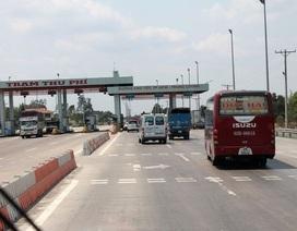 Đề xuất thu phí trở lại trên cao tốc TPHCM - Trung Lương