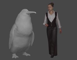 """Phát hiện hoá thạch loài chim cánh cụt """"quái vật"""""""