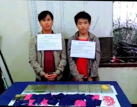 8 bánh heroin, 6000 viên ma túy tổng hợp suýt tuồn vào Việt Nam
