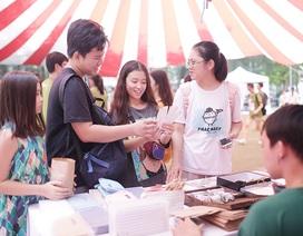 Học sinh Hà Nội hào hứng tham gia hội chợ Bảo vệ môi trường