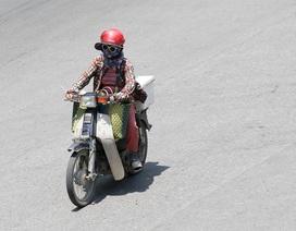 Hà Nội: Ngột ngạt trong ngày nắng nóng