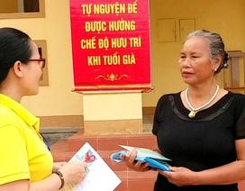 Mua bảo hiểm xã hội tự nguyện ở tuổi 62, cụ bà tâm nguyện gì?