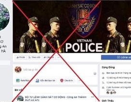 Xuất hiện nhiều địa chỉ giả mạo Facebook của Công an Hà Nội