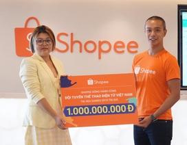 Shopee Việt Nam đồng hành cùng Đội tuyển Thể thao điện tử Việt Nam tại SEA Games  2019