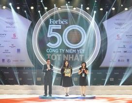 Top 50 công ty niêm yết 2019 của Forbes ghi nhận sự lớn mạnh của các doanh nghiệp tư nhân hàng đầu
