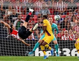 Vắng Messi, Barcelona gục ngã trước Bilbao ở ngày mở màn La Liga