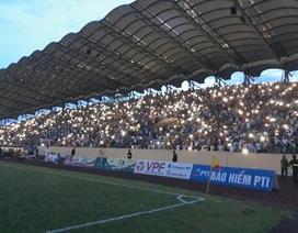 Sân Thiên Trường mất điện, Nam Định thua Quảng Nam phút cuối