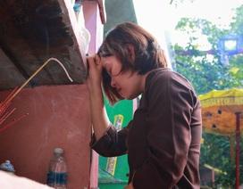 Người Hà Nội đi tảo mộ thú cưng, khóc nức nở trước di ảnh vật nuôi