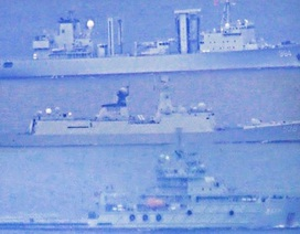 """Philippines nói tàu chiến Trung Quốc """"gây phiền nhiễu"""" khi xâm nhập lãnh hải"""
