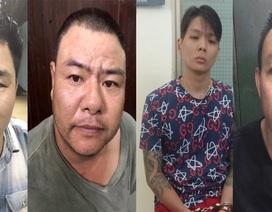 Chân dung nhóm đối tượng buôn ma túy ném lựu đạn chống trả công an