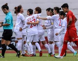 Đánh bại Myanmar, đội tuyển nữ Việt Nam toàn thắng ở vòng bảng giải Đông Nam Á