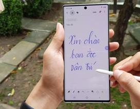 Đập hộp Galaxy Note10+ chính hãng sắp lên kệ thị trường Việt