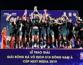 Thắng sát nút Malaysia, Australia vô địch giải U18 Đông Nam Á 2019