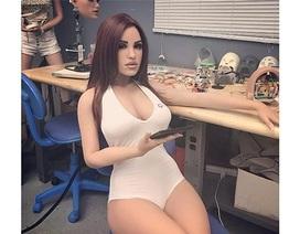 """Robot tình dục tích hợp AI sẽ thành """"bạn tình"""" của con người trong tương lai"""