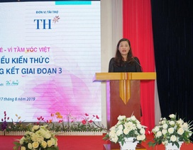Thêm 4.260 lượt người hưởng lợi từ dự án Vì mẹ và bé – Vì Tầm vóc Việt