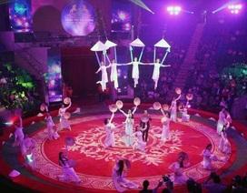 Liên đoàn Xiếc Việt Nam mang rạp khổng lồ đến xứ Thanh