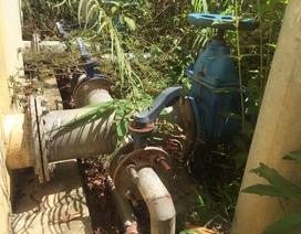 Công trình nước sạch hơn 6 tỷ đồng bỏ hoang: Do hạn hán, thiếu kinh phí