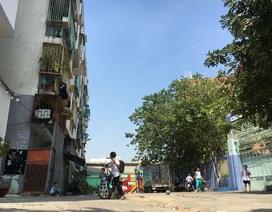 Đề nghị phá dỡ khẩn cấp chung cư nghiêng nguy hiểm ở trung tâm Sài Gòn