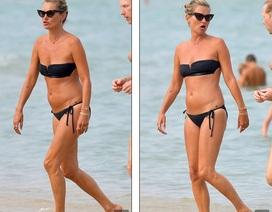 Kate Moss vẫn trẻ trung ở tuổi 45