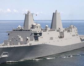 Tàu chiến Mỹ đi qua eo biển Đài Loan giữa lúc căng thẳng với Trung Quốc