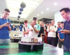 Triển lãm công nghệ ứng dụng IoT - Một ngày phô diễn sáng tạo của sinh viên Đại học Greenwich Việt Nam