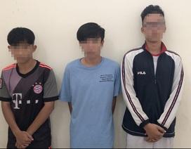 3 trẻ vị thành niên tạt sơn thuê với giá 500 ngàn đồng