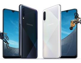 Samsung trình làng bộ đôi smartphone tầm trung với 3 camera, cảm biến vân tay dưới màn hình