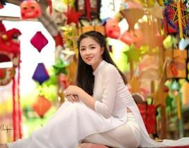 """Bộ ảnh """"mở màn"""" mùa Trung thu của thiếu nữ Hà Nội"""