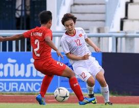 Đội tuyển nữ Việt Nam sẵn sàng cho trận bán kết giải Đông Nam Á