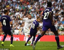 Real Madrid đánh rơi chiến thắng đáng tiếc trước Valladolid