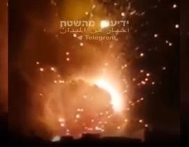 """Israel không kích Syria, chặn máy bay không người lái """"sát thủ"""" của Iran"""