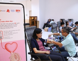 Roche tích cực đóng góp cho hoạt động hiến máu và sàng lọc máu tại Việt Nam