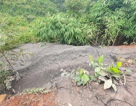 Chất thải nhà máy Alumin Nhân Cơ tiếp tục bị đổ trộm ra môi trường