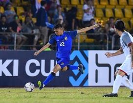 Thái Lan sẽ thi đấu với sơ đồ chỉ 1 tiền đạo khi tiếp đội tuyển Việt Nam?
