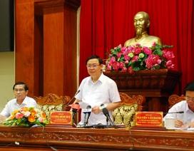 Phó thủ tướng Vương Đình Huệ làm việc với lãnh đạo Tiền Giang về cao tốc Trung Lương - Mỹ Thuận