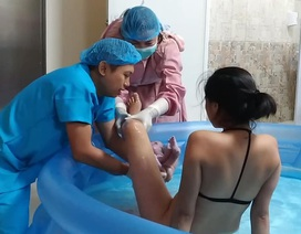 Mẹ Việt tại Philippines kể về hành trình sinh con dưới nước đầy xúc động