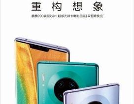 Huawei Mate 30 Pro lộ hình 4 camera tròn giống với Lumia 1020