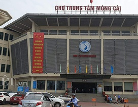 """Chợ cửa khẩu Móng Cái gặp """"thảm cảnh"""", hàng loạt kiot đóng cửa"""