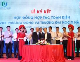 Bệnh viện Đa khoa Phương Đông hợp tác phát triển toàn diện với trường Đại học Y Hà Nội