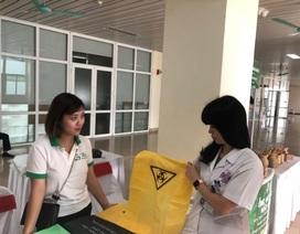 Bệnh viện K: 1 tấn túi nilon rác mỗi tháng sẽ được thay thế bằng túi sinh học dễ phân huỷ