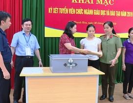 Thanh Hóa tổ chức xét tuyển gần 300 viên chức ngành giáo dục và đào tạo