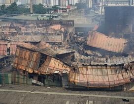Vụ cháy công ty Rạng Đông: Việc tẩy độc môi trường rất phức tạp