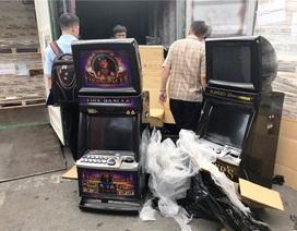 """Doanh nghiệp nhập cả container máy đánh bạc cũ nhưng khai báo là """"bàn làm việc"""""""