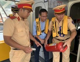 CSGT Sài Gòn đồng loạt kiểm tra, xử lý phương tiện trước kỳ nghỉ lễ 2/9