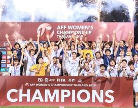 Đội tuyển nữ Việt Nam vô địch Đông Nam Á… trong cô đơn