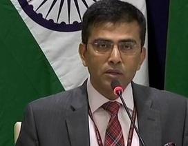 Ấn Độ phản đối hành vi đe dọa dùng vũ lực trên Biển Đông