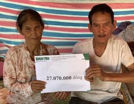Ngôi nhà sắp sập của cậu bé mồ côi với ông bà ngoại được bạn đọc Dân trí giúp đỡ xây mới