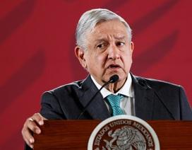 Mexico phát hiện camera quay lén trong dinh tổng thống